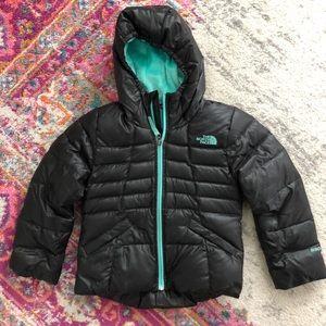 Girls North Face Puffer coat xs